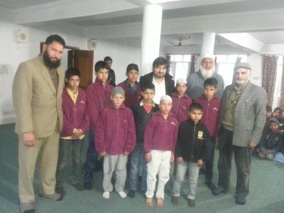 Blanket & Jacket Distribution